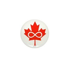 Canadian Metis Flag Mini Button (10 pack)