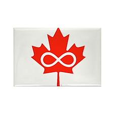 Canadian Metis Flag Rectangle Magnet