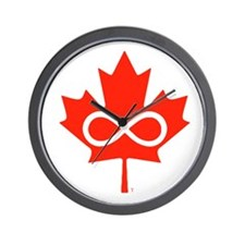 Canadian Metis Flag Wall Clock