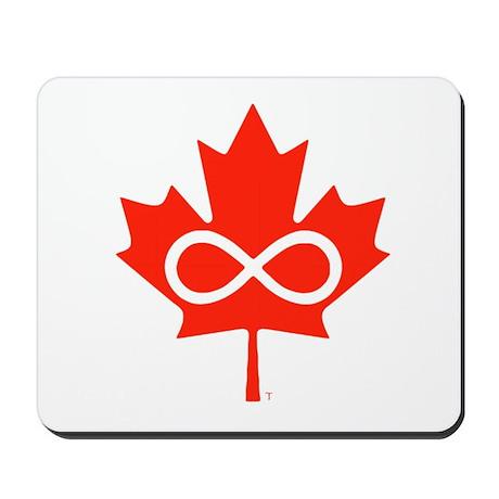 Canadian Metis Flag Mousepad