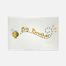 Big Brother Bee Rectangle Magnet