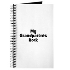 My Grandparents Rock Journal