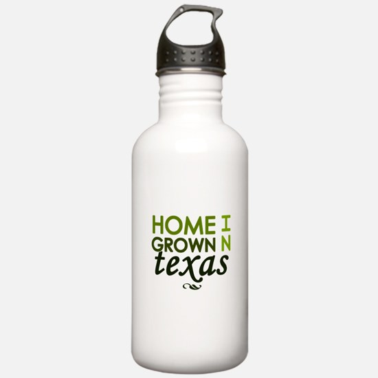 'Home Grown In Texas' Water Bottle