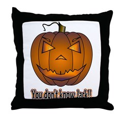 You Don't Know Jack! Throw Pillow