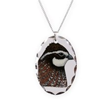 Bobwhite Quail Head Necklace