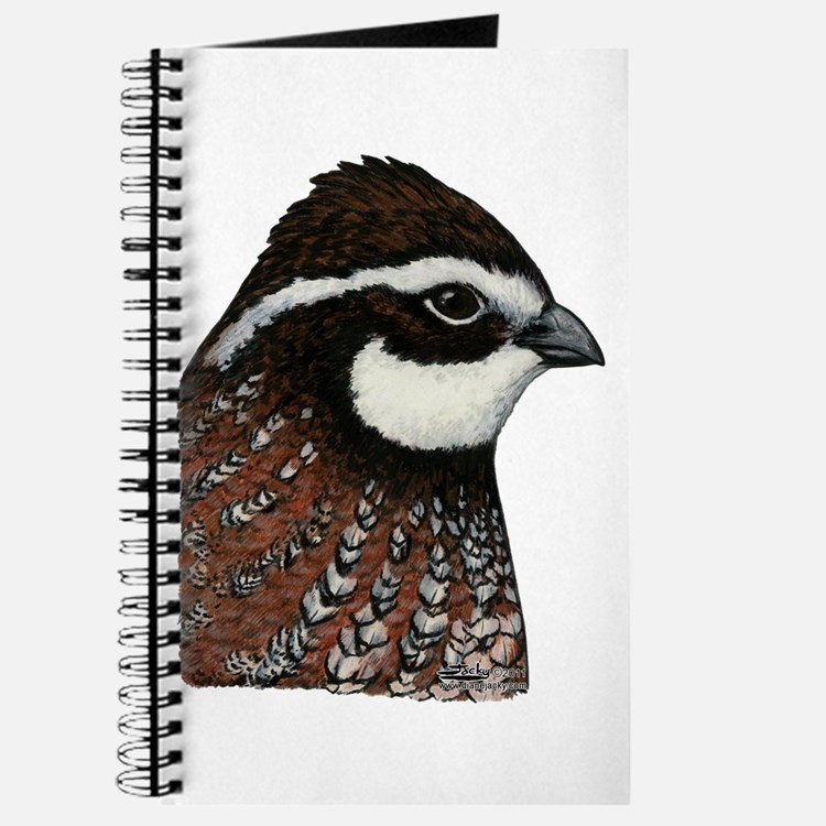Bobwhite Quail Head Journal