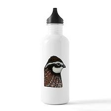 Bobwhite Quail Head Water Bottle