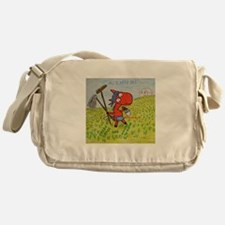 Cute Nurse secretary Messenger Bag