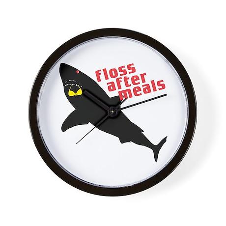 Shark Floss Wall Clock