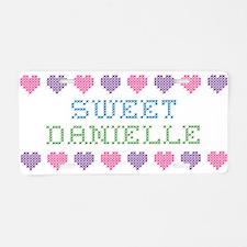 Sweet DANIELLE Aluminum License Plate