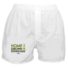 'Home Grown In Tennessee' Boxer Shorts