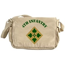 4th Infantry Division Messenger Bag