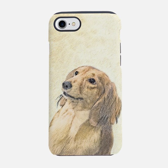 Dachshund (Longhaired) iPhone 7 Tough Case