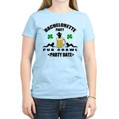 Custom Irish Bachelorette Party T-Shirt