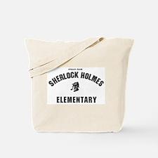 Sherlock Holmes Elementary Tote Bag
