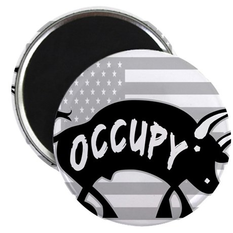 "Occupy Bull 2.25"" Magnet (10 pack)"