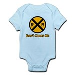 Dont cross me Infant Bodysuit