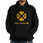 Dont cross me Hoodie (dark)