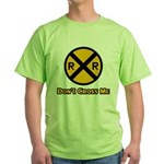 Dont cross me Green T-Shirt