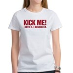 Kick Me Women's T-Shirt