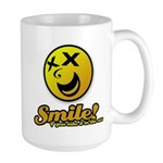 Shocking Smiley Large Mug