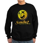 Shocking Smiley Sweatshirt (dark)