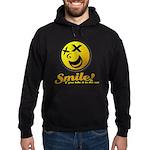 Shocking Smiley Hoodie (dark)