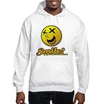 Shocking Smiley Hooded Sweatshirt
