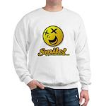 Shocking Smiley Sweatshirt