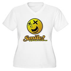 Shocking Smiley T-Shirt