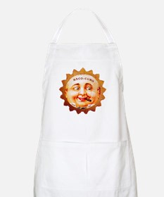 Round Face Cigar Label Apron