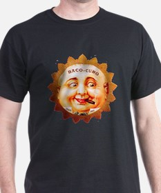 Round Face Cigar Label T-Shirt