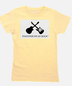 Together we SO Rock white background T-Shirt