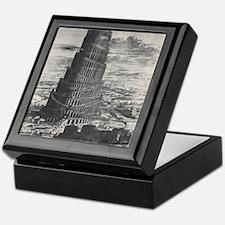 Ancient Tower of Babel Keepsake Box