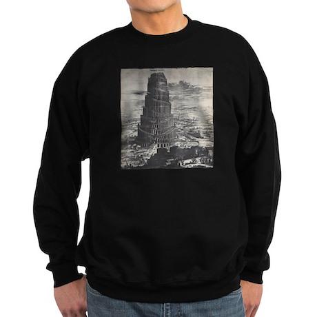 Ancient Tower of Babel Sweatshirt (dark)