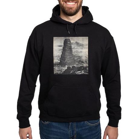 Ancient Tower of Babel Hoodie (dark)