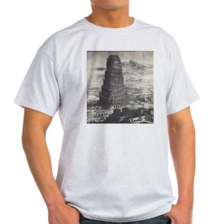 Ancient Tower of Babel Light T-Shirt