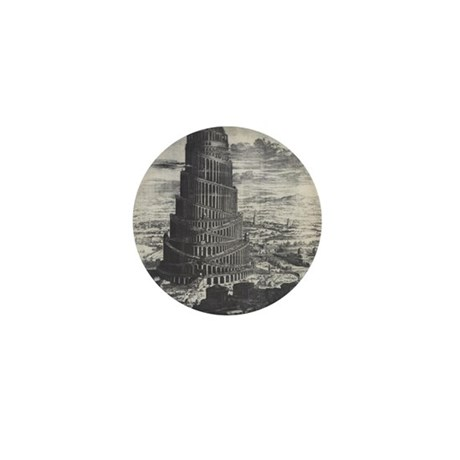Ancient Tower of Babel Mini Button (100 pack)