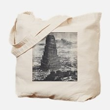 Ancient Tower of Babel Tote Bag