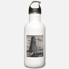 Ancient Tower of Babel Water Bottle