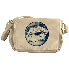 Earth Day Love Messenger Bag