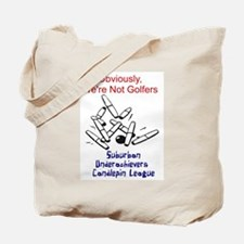 Suburban Underachievers Tote Bag