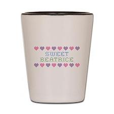 Sweet BEATRICE Shot Glass