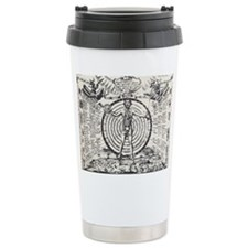 Alchemical Astrology Man Travel Mug