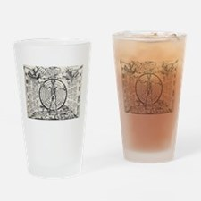 Alchemical Astrology Man Drinking Glass