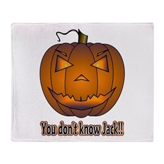 You Don't Know Jack! Throw Blanket