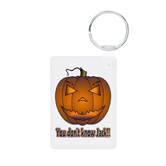 You Don't Know Jack! Aluminum Photo Keychain