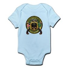 US Army MP Military Police Sk Infant Bodysuit
