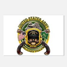 US Army MP Skull Cross Pistol Postcards (Package o