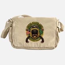 US Army MP Skull Cross Pistol Messenger Bag